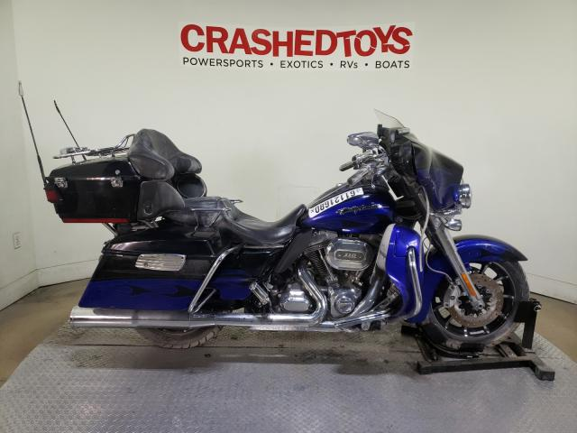 Salvage cars for sale from Copart Dallas, TX: 2011 Harley-Davidson FLHTCUSE6