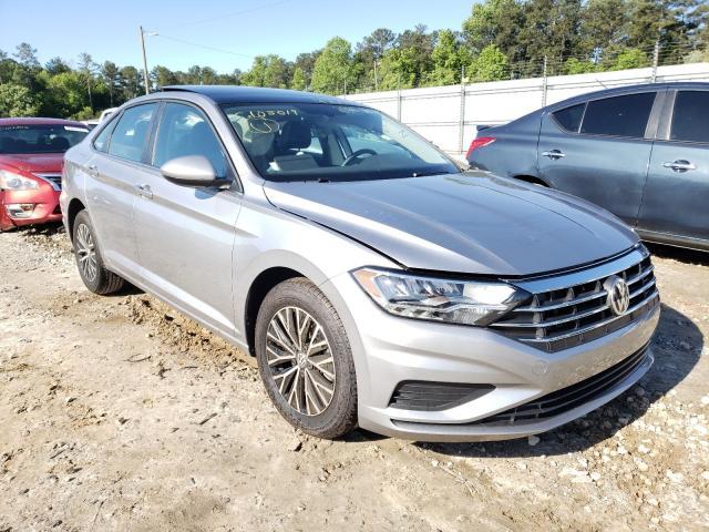 Salvage cars for sale from Copart Ellenwood, GA: 2020 Volkswagen Jetta S