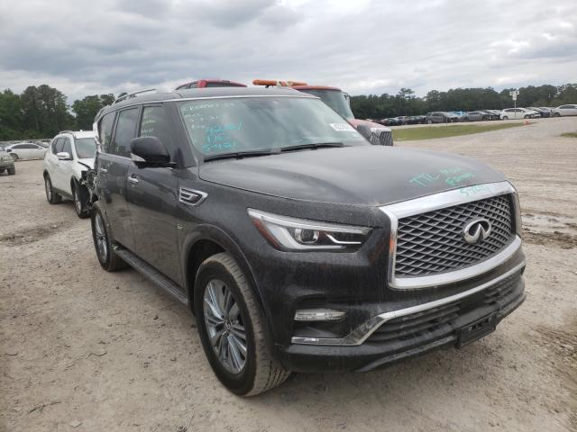 Infiniti Vehiculos salvage en venta: 2019 Infiniti QX80 Luxe