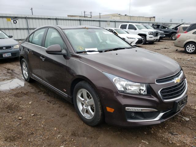 2015 Chevrolet Cruze LT en venta en Mercedes, TX