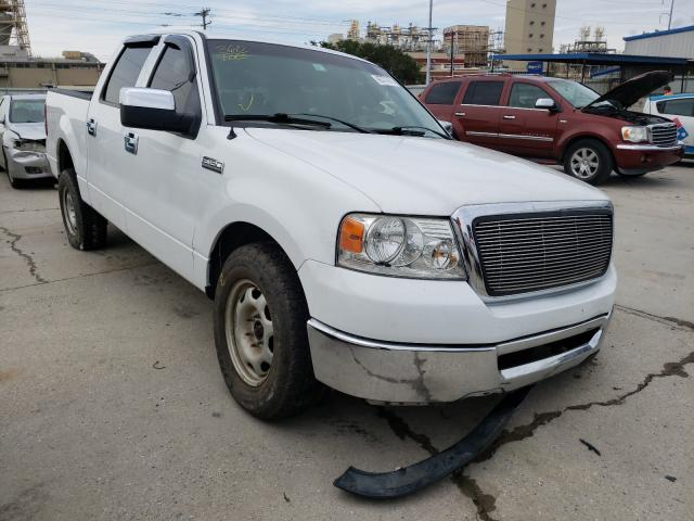 Salvage cars for sale from Copart New Orleans, LA: 2008 Ford F150 Super