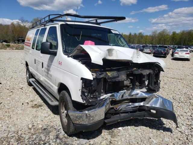 Salvage trucks for sale at Candia, NH auction: 2014 Ford Econoline