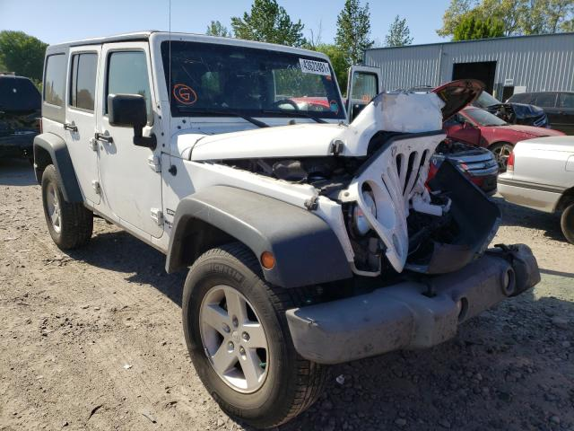 Salvage cars for sale at Portland, OR auction: 2015 Jeep Wrangler U