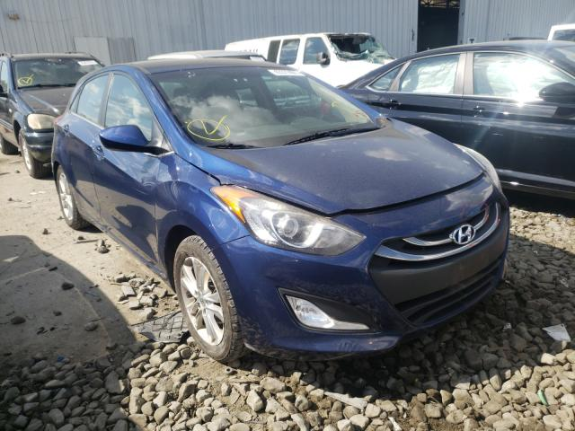 Salvage cars for sale from Copart Windsor, NJ: 2013 Hyundai Elantra GT