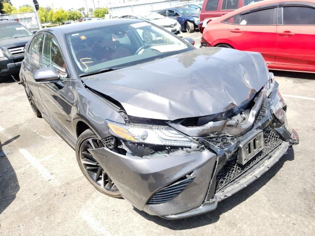Salvage cars for sale from Copart Rancho Cucamonga, CA: 2019 Toyota Camry XSE