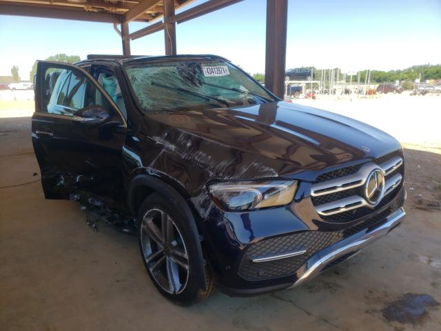 Salvage cars for sale from Copart Tanner, AL: 2021 Mercedes-Benz GLE 350 4M