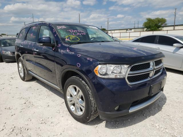 Salvage cars for sale from Copart Haslet, TX: 2013 Dodge Durango CR