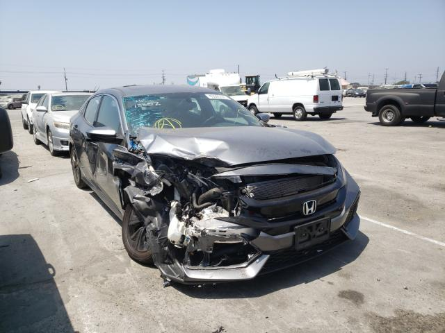 Salvage cars for sale from Copart Sun Valley, CA: 2018 Honda Civic EX