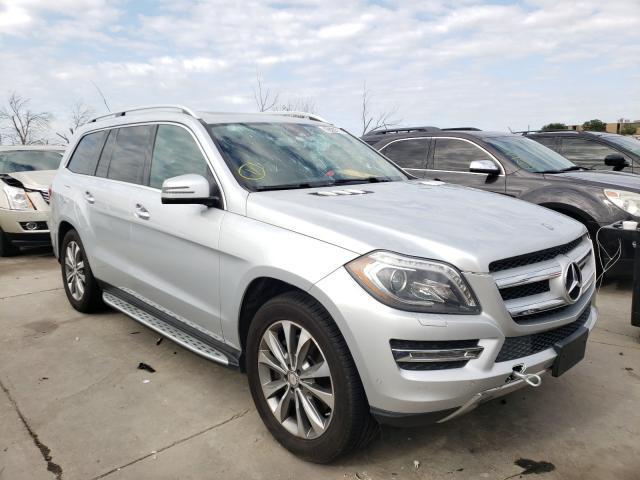 2013 Mercedes-Benz GL 450 4matic en venta en Grand Prairie, TX