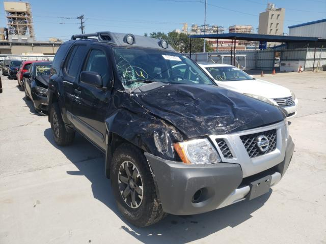 Salvage cars for sale from Copart New Orleans, LA: 2015 Nissan Xterra X