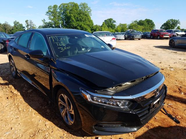 Salvage cars for sale from Copart China Grove, NC: 2018 Honda Accord EXL