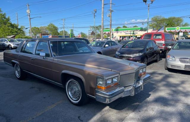 Cadillac Brougham salvage cars for sale: 1988 Cadillac Brougham