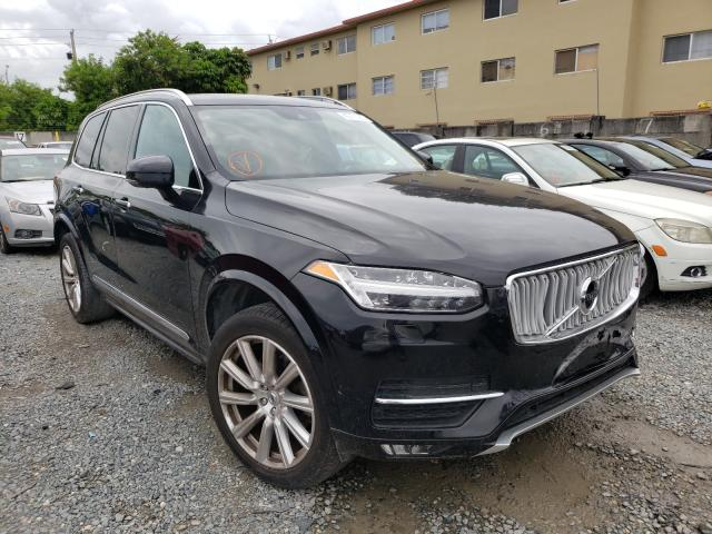 Salvage cars for sale at Opa Locka, FL auction: 2018 Volvo XC90 T6