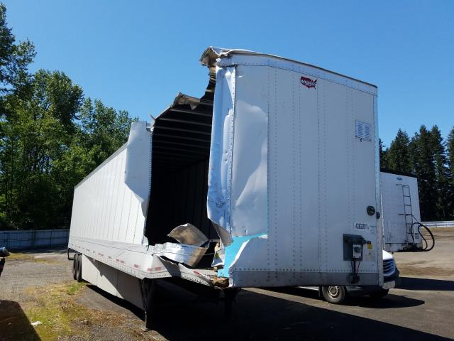 Salvage cars for sale from Copart Arlington, WA: 2019 Wabash Trailer