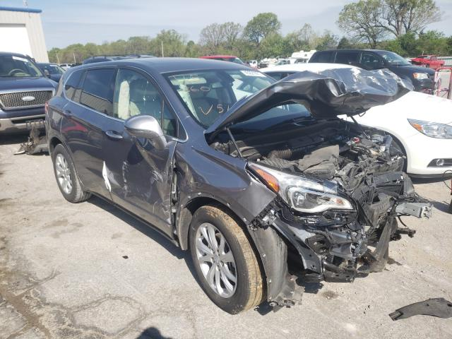 Buick Envision salvage cars for sale: 2019 Buick Envision