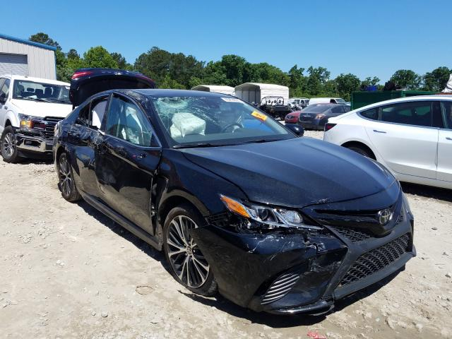 Salvage cars for sale from Copart Ellenwood, GA: 2020 Toyota Camry SE