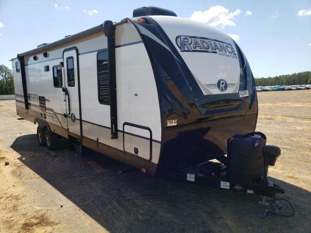 Cruiser Rv salvage cars for sale: 2018 Cruiser Rv Radiance