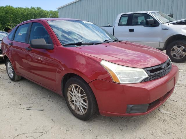 Salvage cars for sale from Copart Hampton, VA: 2010 Ford Focus SE