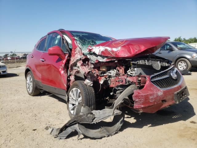 Salvage cars for sale from Copart Fresno, CA: 2020 Buick Encore PRE