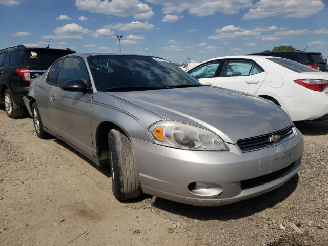 Salvage cars for sale at Indianapolis, IN auction: 2007 Chevrolet Monte Carl