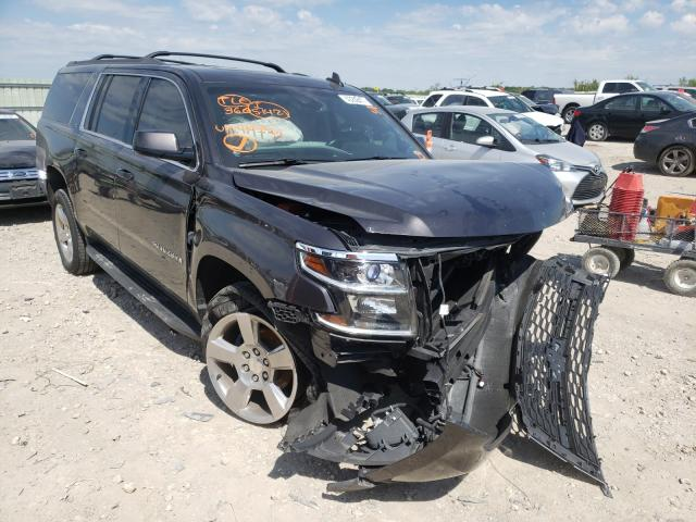 Salvage cars for sale from Copart Kansas City, KS: 2016 Chevrolet Suburban K