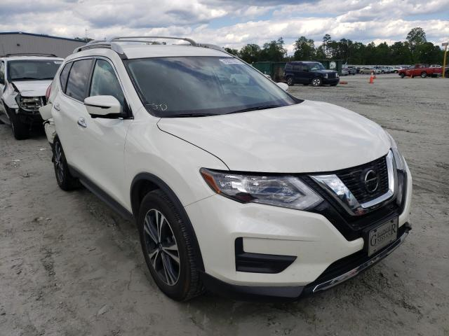 Salvage cars for sale from Copart Spartanburg, SC: 2020 Nissan Rogue S