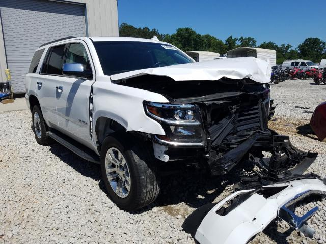 Salvage cars for sale from Copart Ellenwood, GA: 2018 Chevrolet Tahoe C150
