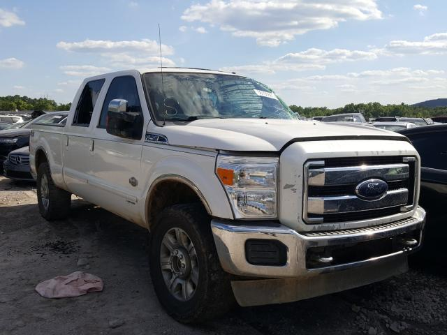 Salvage cars for sale from Copart Hueytown, AL: 2015 Ford F250 Super