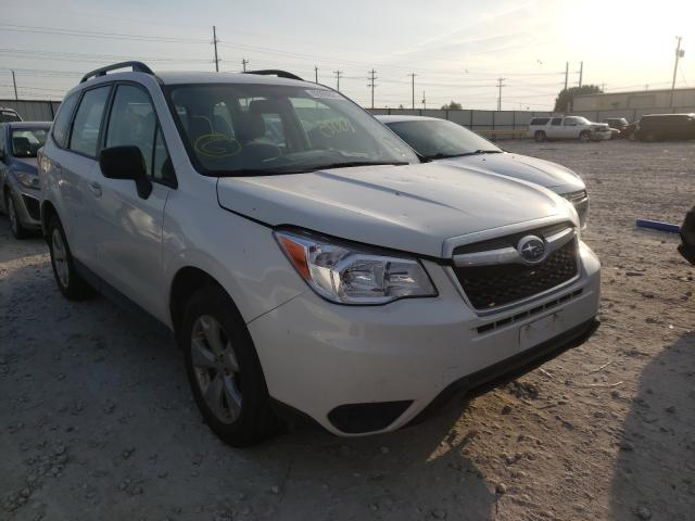 Salvage cars for sale from Copart Haslet, TX: 2016 Subaru Forester 2