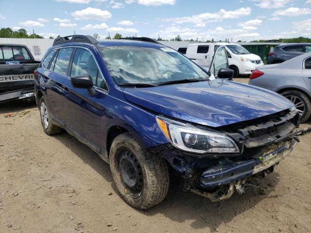 Salvage cars for sale from Copart Louisville, KY: 2015 Subaru Outback 2