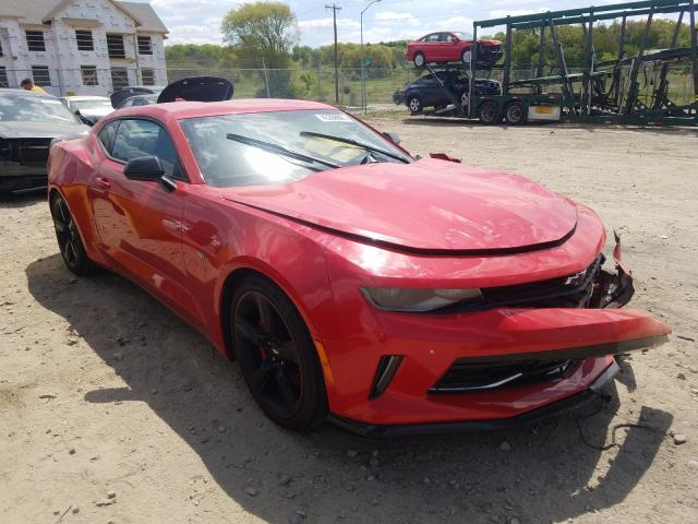 Salvage cars for sale from Copart Madison, WI: 2018 Chevrolet Camaro LT