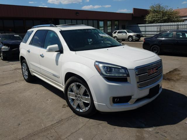 Salvage cars for sale from Copart Fort Wayne, IN: 2014 GMC Acadia DEN