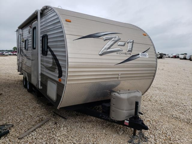 ZI salvage cars for sale: 2015 ZI Trailer