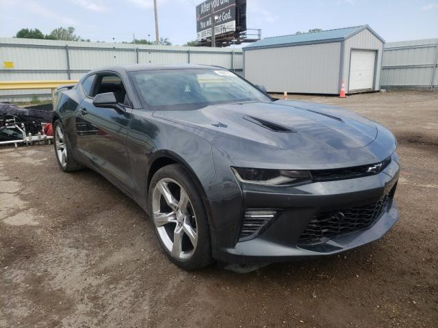 Salvage cars for sale from Copart Wichita, KS: 2018 Chevrolet Camaro SS