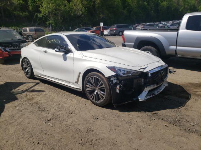 Infiniti salvage cars for sale: 2017 Infiniti Q60 Base