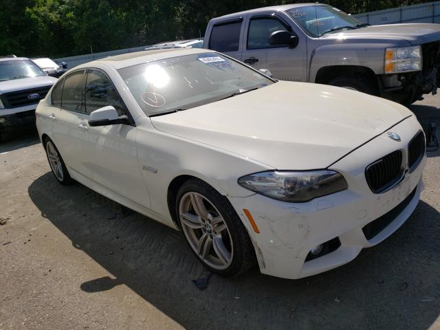 Salvage cars for sale from Copart Shreveport, LA: 2016 BMW 535 I