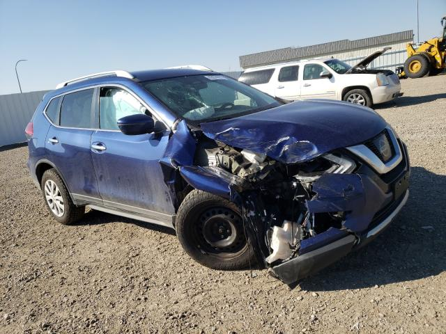 Salvage cars for sale from Copart Bismarck, ND: 2017 Nissan Rogue S