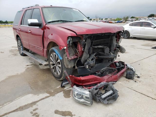 Lincoln Navigator salvage cars for sale: 2015 Lincoln Navigator