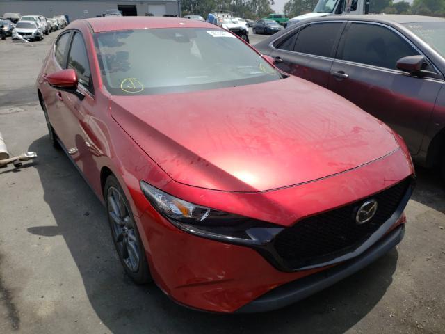 Salvage cars for sale from Copart Colton, CA: 2020 Mazda 3 Preferre