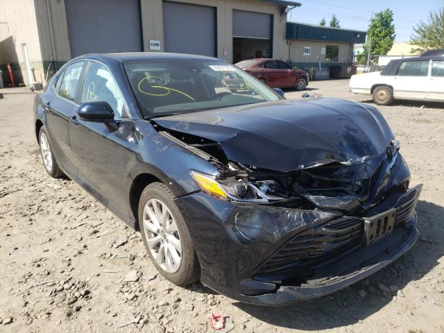 Salvage cars for sale from Copart Eugene, OR: 2020 Toyota Camry LE