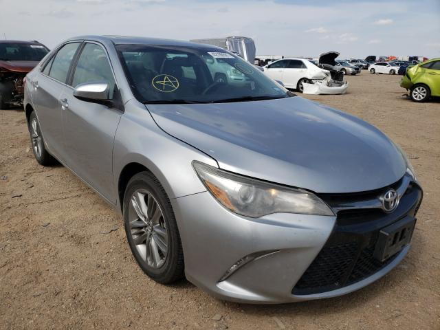 Salvage cars for sale from Copart Amarillo, TX: 2015 Toyota Camry LE