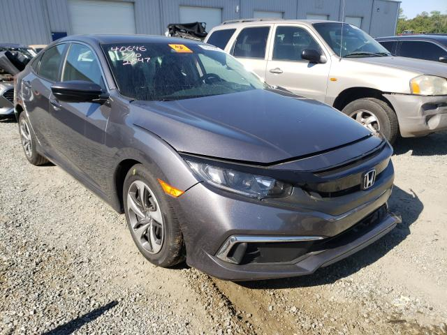 Salvage cars for sale from Copart Jacksonville, FL: 2019 Honda Civic LX