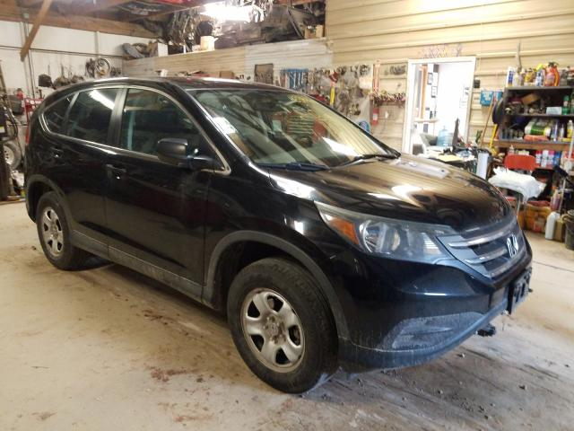 Salvage cars for sale from Copart Billings, MT: 2013 Honda CR-V LX