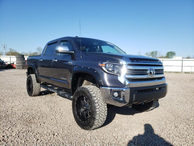 Salvage cars for sale from Copart Central Square, NY: 2017 Toyota Tundra CRE
