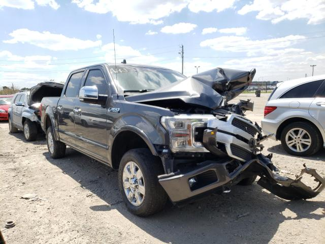 Salvage cars for sale from Copart Indianapolis, IN: 2018 Ford F150 Super