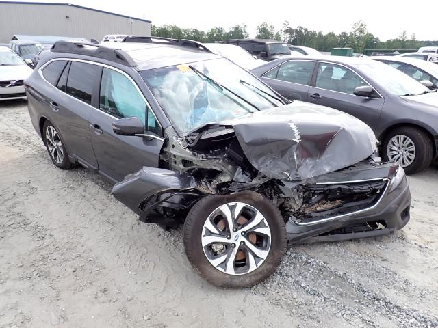 Salvage cars for sale from Copart Spartanburg, SC: 2021 Subaru Outback LI