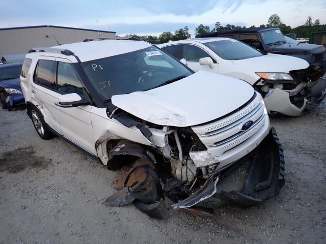 Vehiculos salvage en venta de Copart Spartanburg, SC: 2015 Ford Explorer L