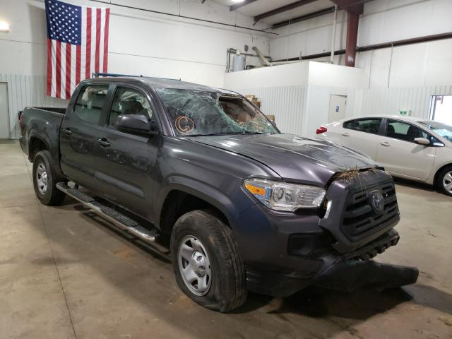Salvage cars for sale from Copart Lufkin, TX: 2018 Toyota Tacoma DOU