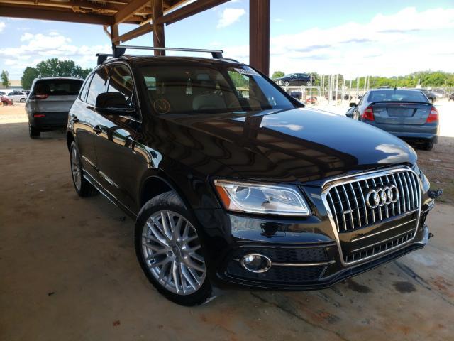 Salvage cars for sale from Copart Tanner, AL: 2017 Audi Q5 Premium