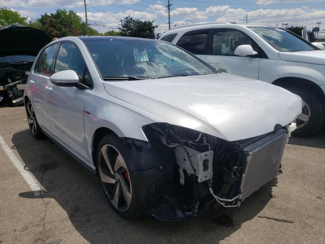 Salvage cars for sale from Copart Moraine, OH: 2020 Volkswagen GTI S